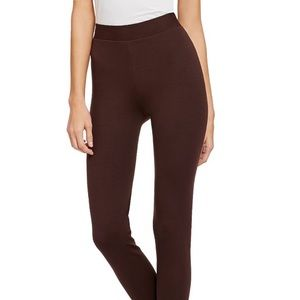 Vince Camuto Dark Earth Mid Rise Leggings Small